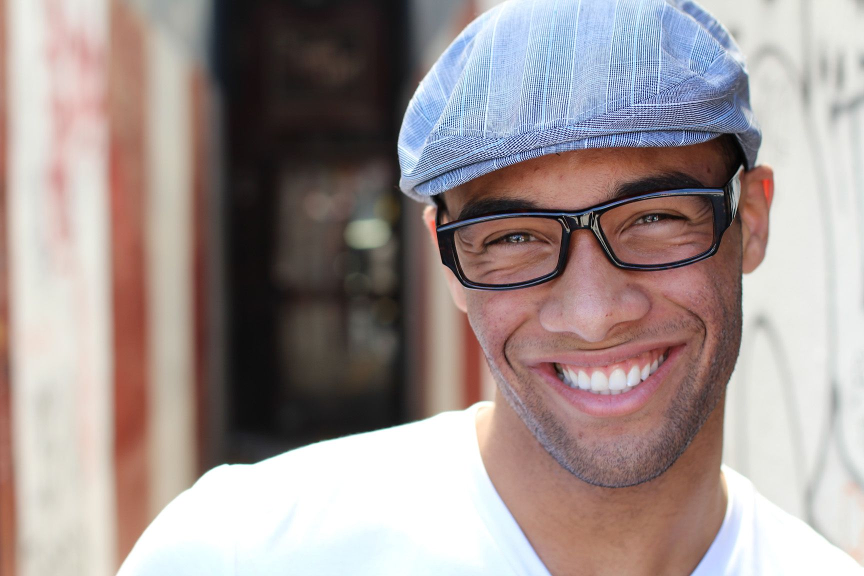 Cosmetic Bonding - man smiling