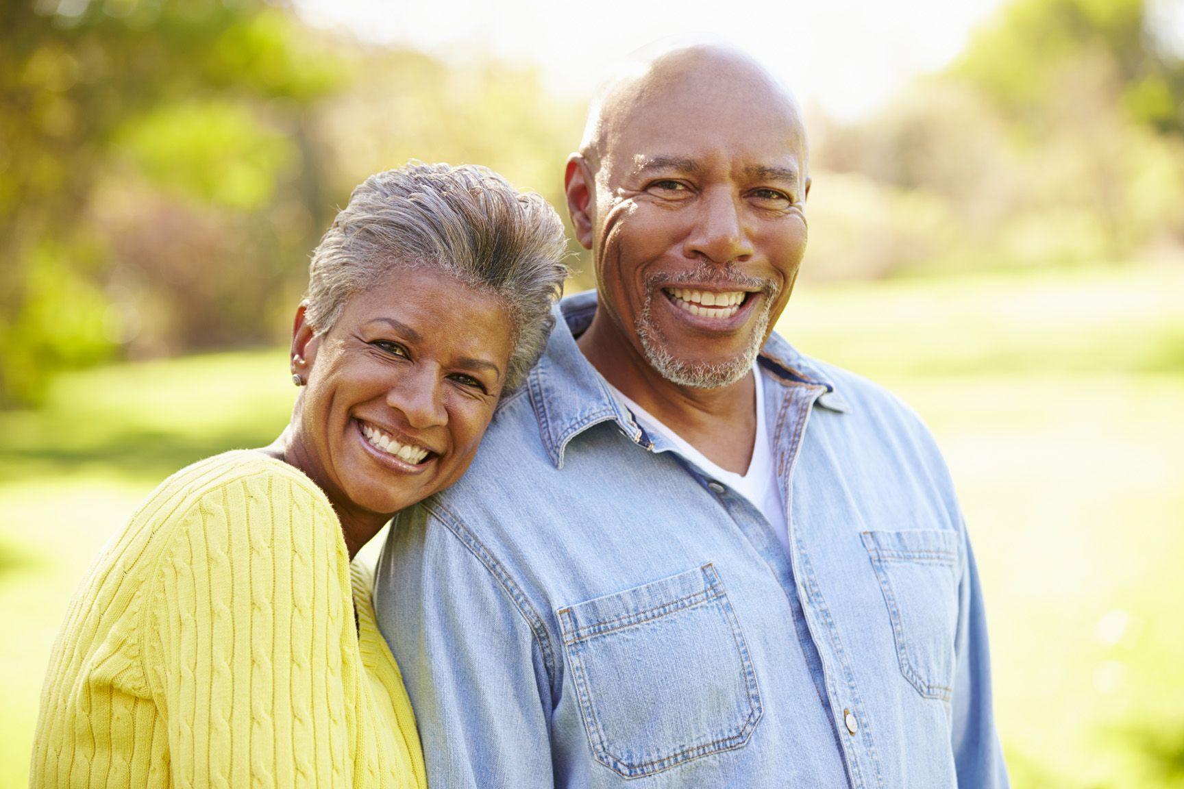 Dentures|- older couple